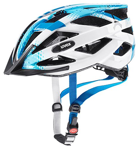 uvex Unisex air wing Jugend Fahrradhelm blue white