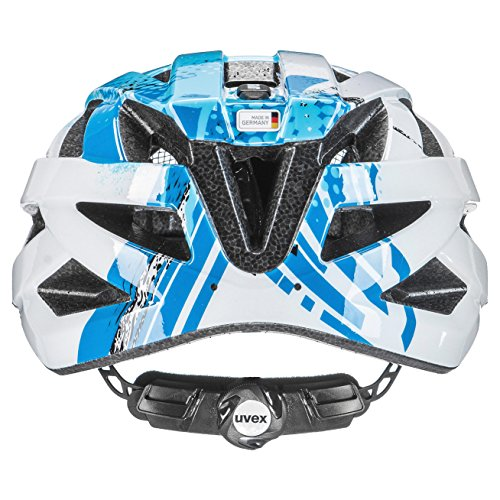 uvex Unisex air wing Jugend Fahrradhelm blue white - 2