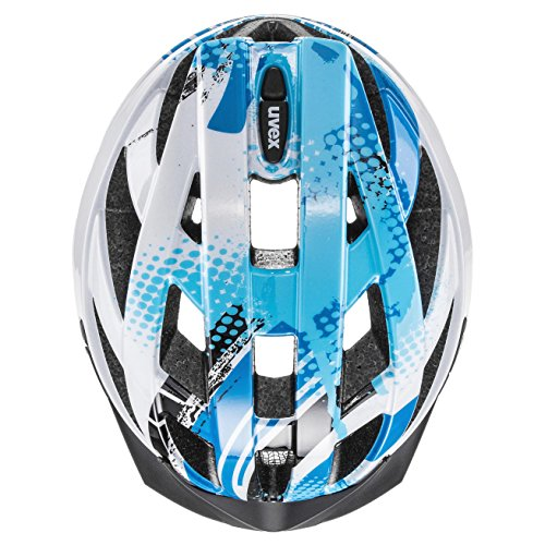 uvex Unisex air wing Jugend Fahrradhelm blue white - 7
