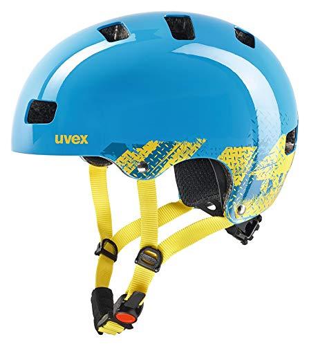 uvex Unisex Jugend kid 3 Fahrradhelm, blackout blue